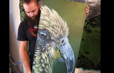 Artist Joel Nicholls